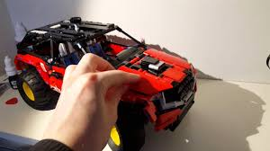 lego range rover range rover evoque lego technic custom youtube