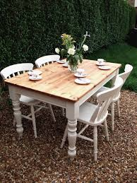 Shabby Chic Dining Table And Chairs Shabby Chic Dining Sets Nurani Org