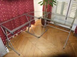 bureau verre angle bureau d angle verre aluminum occasion