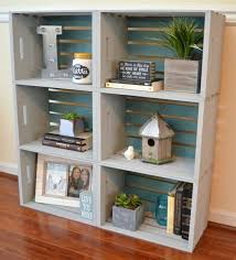 Building Wood Bookcase by 25 Best Crate Bookshelf Ideas On Pinterest Desk To Vanity Diy