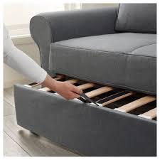 Sofa Bed Mattress Support by Backabro Two Seat Sofa Bed Nordvalla Dark Grey Ikea