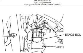 1999 mitsubishi galant anti theft system engine mechanical