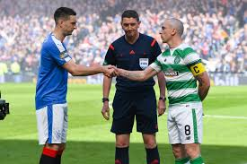 in pictures ten best images from today u0027s rangers v celtic clash