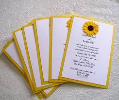 Sunflower Wedding Programs Wedding Program Ideas Wedding Plan Ideas