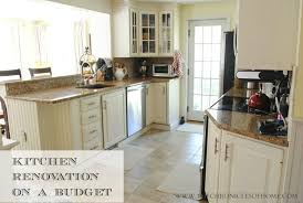 New Kitchen Cabinets On A Budget Budget Kitchen Renovation The Home Depot The Chronicles Of Home