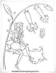 71 barbie fairytopia kids coloring sheet barbie elina