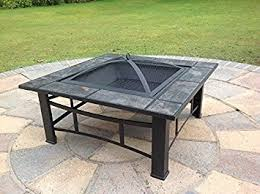 Firepits Co Uk Outdoor Pit Table Patio Heater Metal Decking Firepit Brazier