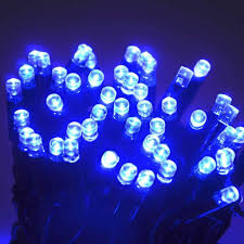 purple led lights white wire 5mm blue