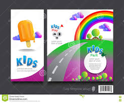 100 brochure template for kids child care brochure template