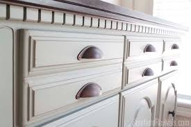 client files vintage sideboard buffet dresser makeover