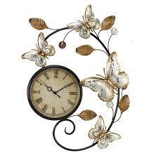 Decorative Metal Wall Clocks Metal Art Wall Clock For Living Space U2013 Wall Clocks
