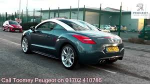peugeot 1008 used 2010 peugeot rcz gt 1 6l dolphin blue metallic ex60cyf for sale at