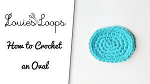 Crochet Oval Rag Rug Pattern How To Crochet An Oval Youtube