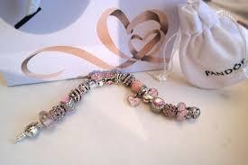 pandora charm bracelet clasp images Pandora bracelet with 18 charms flower clasp and zircons jpg