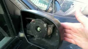 ford focus wing mirror parts replace your car passenger side mirror how to diy