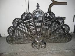 art deco folding fireplace screen for sale at 1stdibs