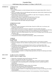resume format exles documentation of android android resume sles velvet jobs