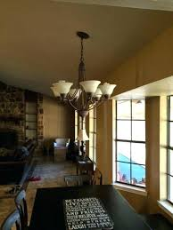 pendant lights for vaulted ceilings lights for slanted ceiling intodns info
