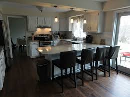 Seating Kitchen Islands Best 20 Round Kitchen Island Ideas On Pinterest Large Granite