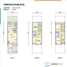 layout of terraced houses in gamuda gardens hanoi