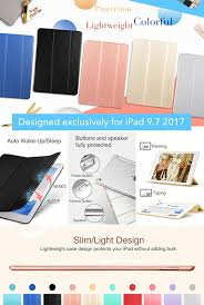 amazon com esr ipad 2017 ipad 9 7 inch case lightweight smart