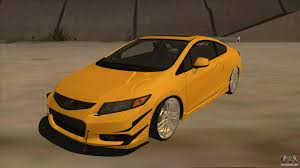 custom honda civic si honda civic si 2012 for gta san andreas