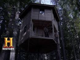 the woodsmen aza s rotating tree house s1 e8 history