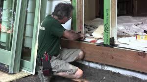 view install exterior door threshold room design decor top under