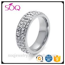 aliexpress buy anniversary 18k white gold filled 4 18k white gold filled white sapphire bling wedding band ring buy