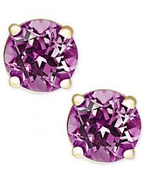 amethyst stud earrings amethyst earrings shop amethyst earrings macy s