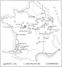 Bordeaux France Map The Forest History Society World War I 10th And 20th Engineers