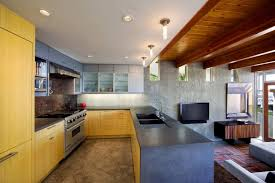 Architectural Kitchen Design by The Temple Hills Residence By Schola Architecture