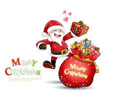 cute snowman and santa claus 03 christmas vector free vector 4vector