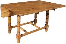 Folded Dining Table Rustic Pine Collection Folding Dining Table Mes03