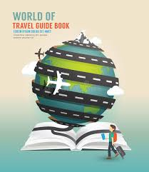world travel guide images World travel design open book guide concept vector illustration jpg