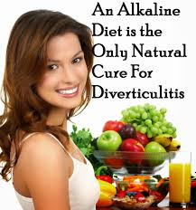 an alkaline diet is the only natural cure for diverticulitis