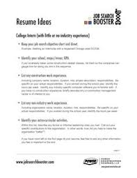 Resume Interests Examples by Resume Objective Examples Job Resume Objective Examples Resumes