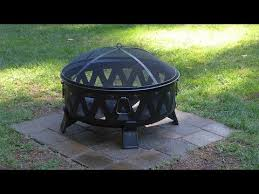 Firepit Base Installing A Paver Base For A Metal Pit