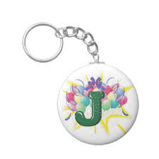 letter j keychains u0026 letter j keychain designs zazzle canada