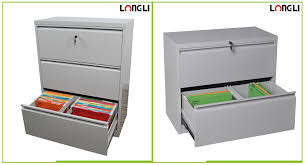 high quality metal office furniture steel 4 drawer lateral filing