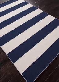 Modern Stripe Rug by Navy Blue And White Rugs Roselawnlutheran