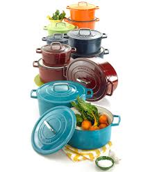 martha stewart kitchenware and accessories macy s martha stewart collection collectors enameled cast iron created for macy s