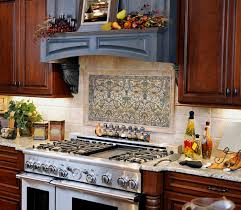 murals for kitchen backsplash kitchen mural motif tile kitchen backsplash combined with