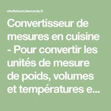 convertisseur mesure cuisine convertisseur mesure cuisine 37 images convertisseur de mesures