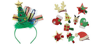 christmas accessories 15 christmas hair fashion accessories for women 2017