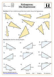 finding missing angles in triangles worksheet trigonometry worksheet t4 calculating angles answers intrepidpath