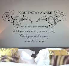 word art for bedroom walls the best bedroom 2017 5 word art for bedroom walls decals ealing