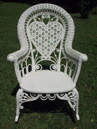 dining room impressive white rattan chair ira design inside wicker
