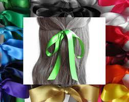 hair ribbons hair ribbon etsy