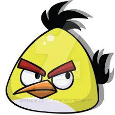 angry birds yellow bird kit nightwalker deviantart